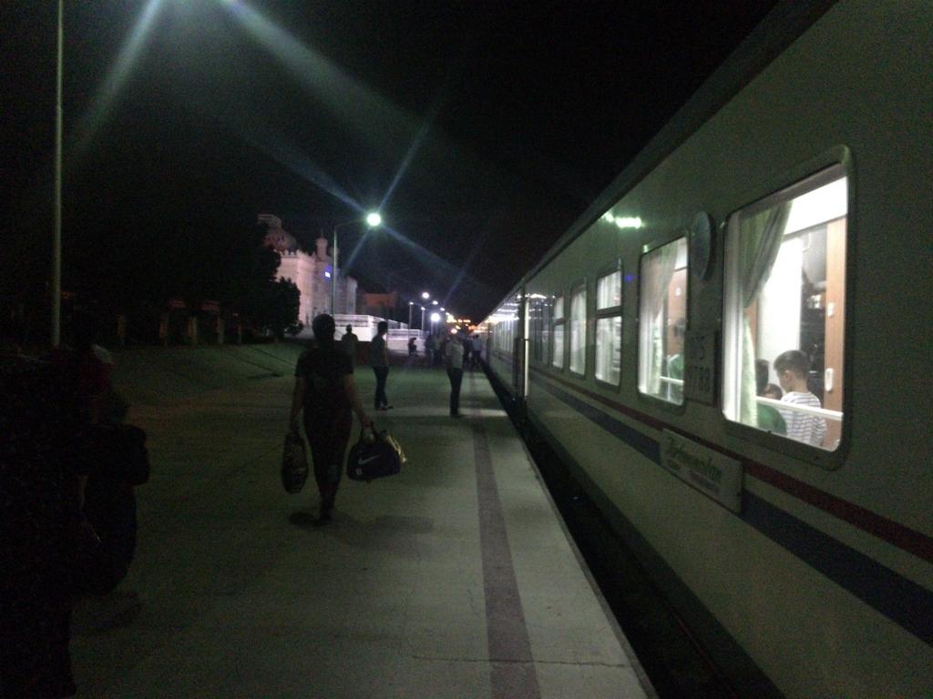 トルクメンバシ駅
