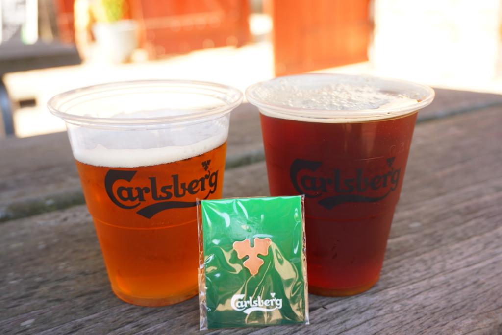 カールスバーグ工場 ビール試飲