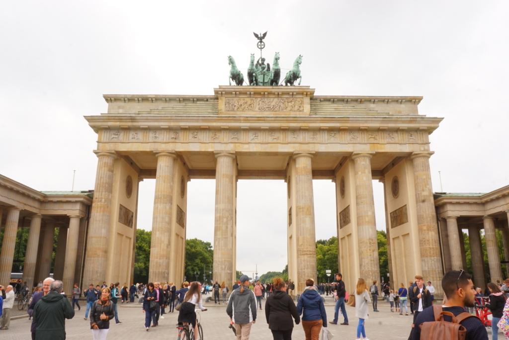 ベルリン観光フランデンブルク門