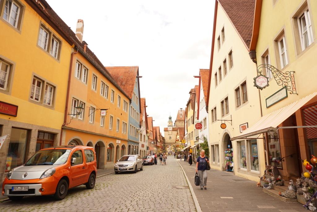 ローテンブルク 旧市街
