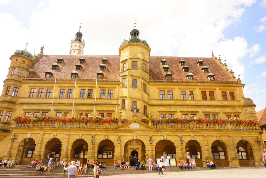 ローテンブルク 市庁舎