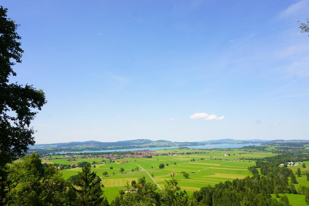 ノイシュバンシュタイン城 景色