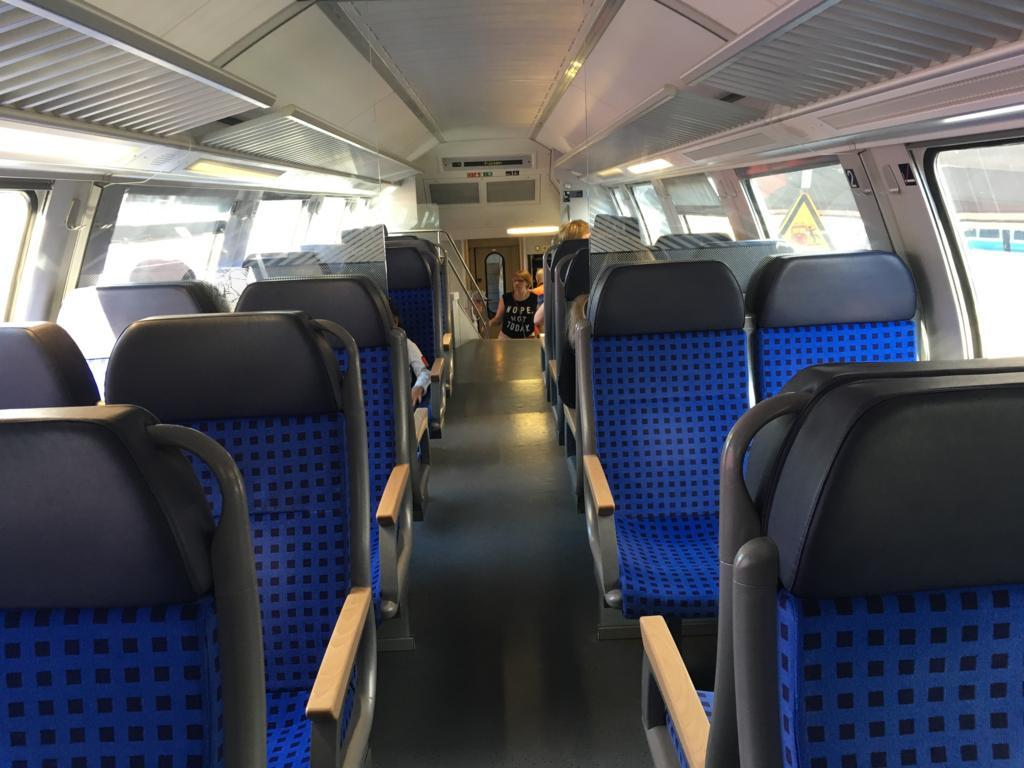 ミュンヘン中央駅からフュッセン駅