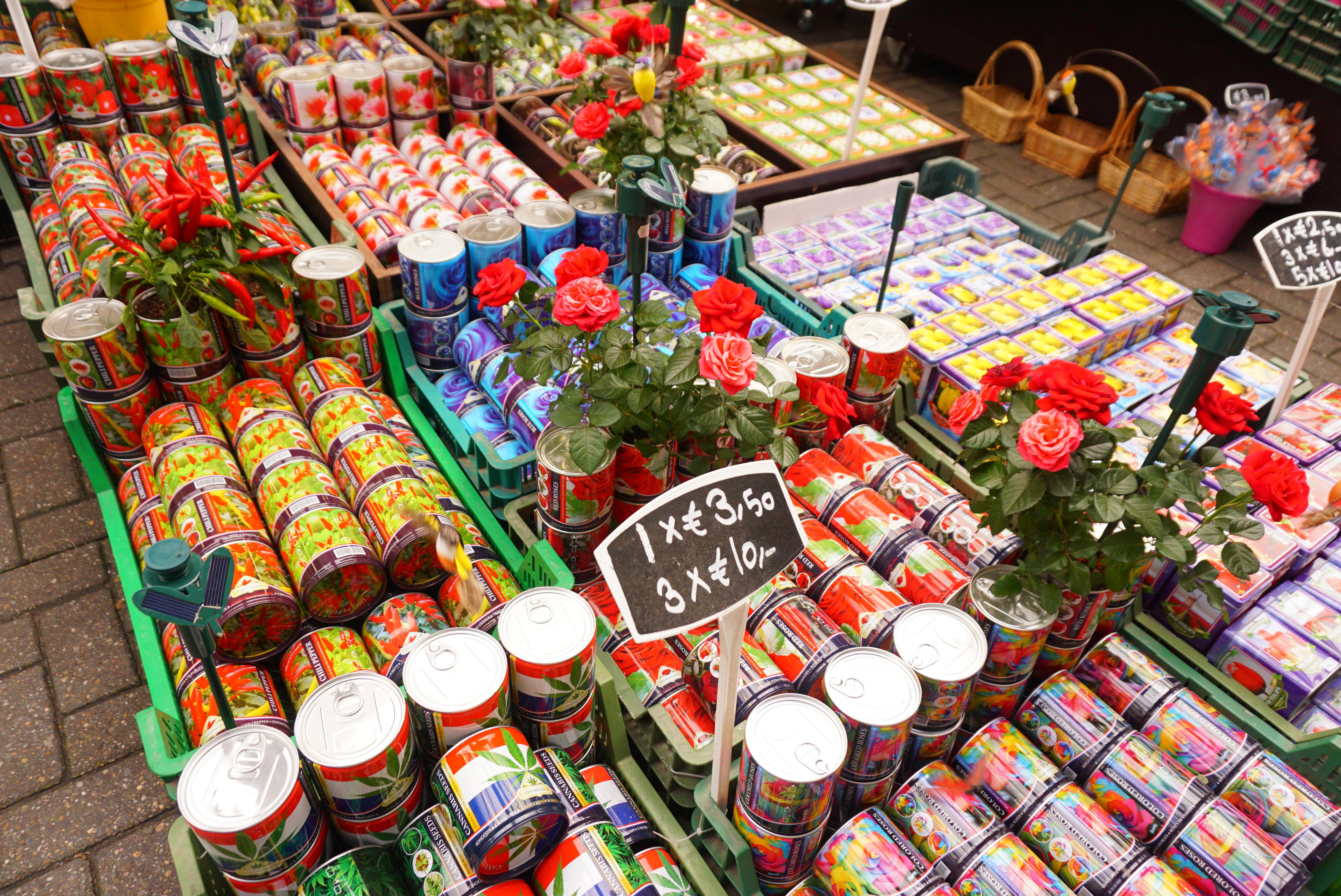 アムステルダムフラワーマーケット