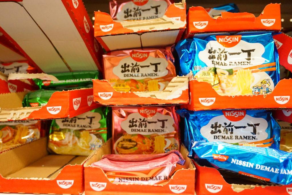 ブリュッセル日本食買いたい
