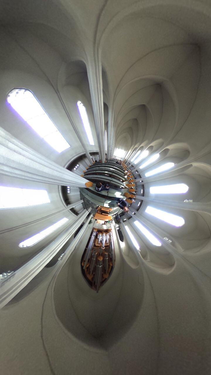 ハットルグリムス教会360度画像
