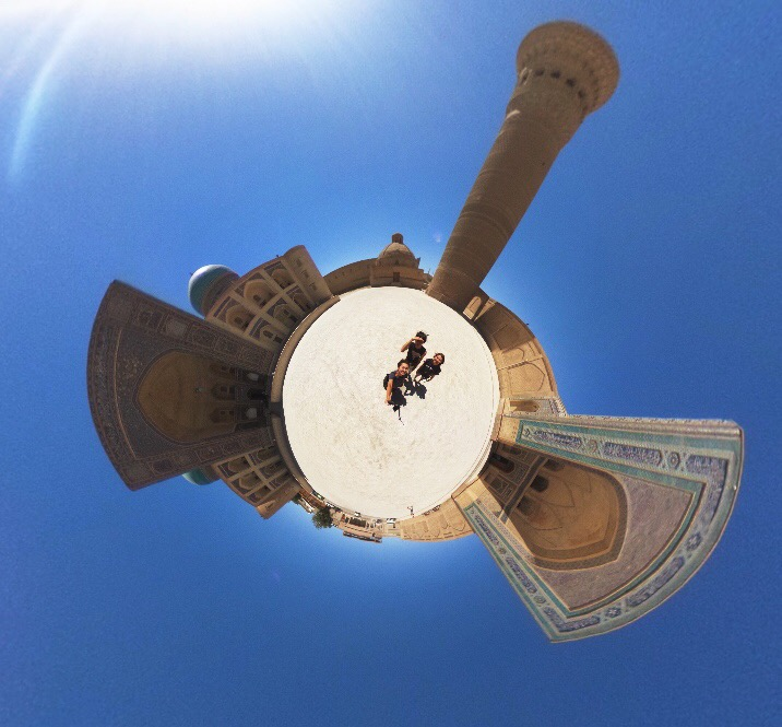 theta世界一周写真ウズベキスタン