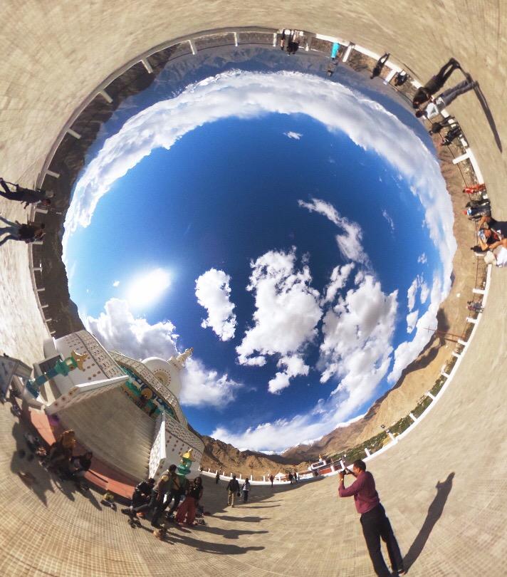 theta世界一周写真インド