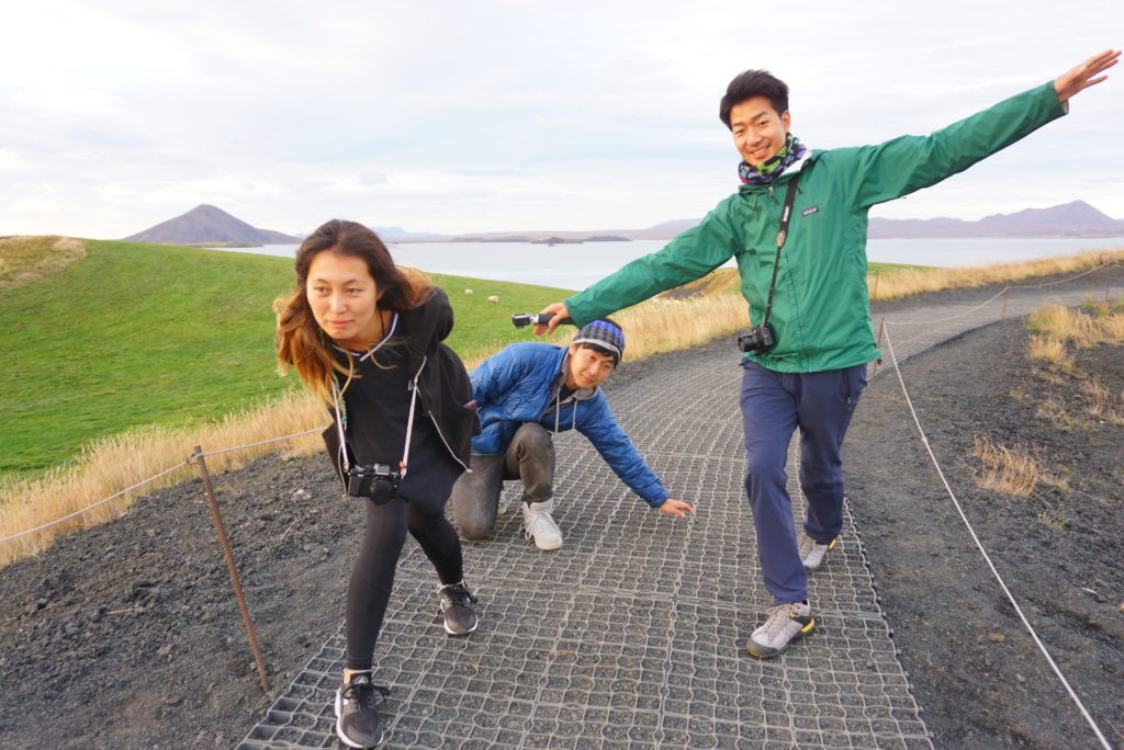 アイスランドミーバトン湖