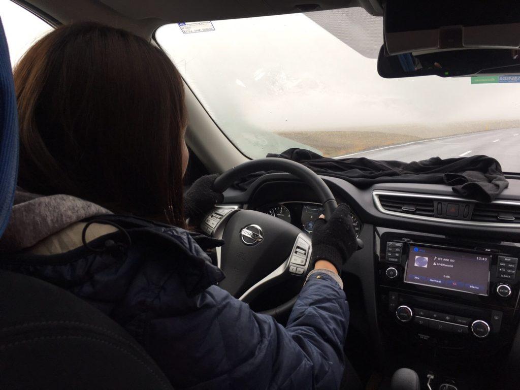 アイスランド運転