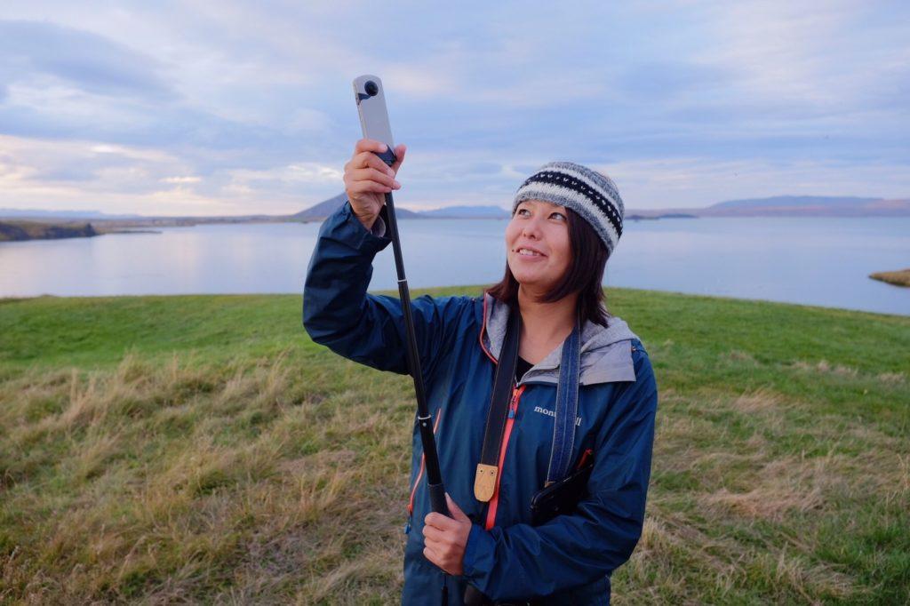アイスランド360度カメラ