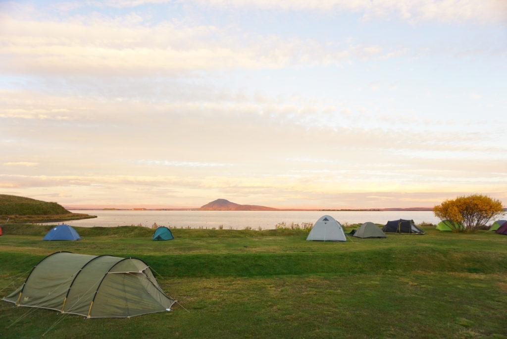 ミーヴァトン湖キャンプ場
