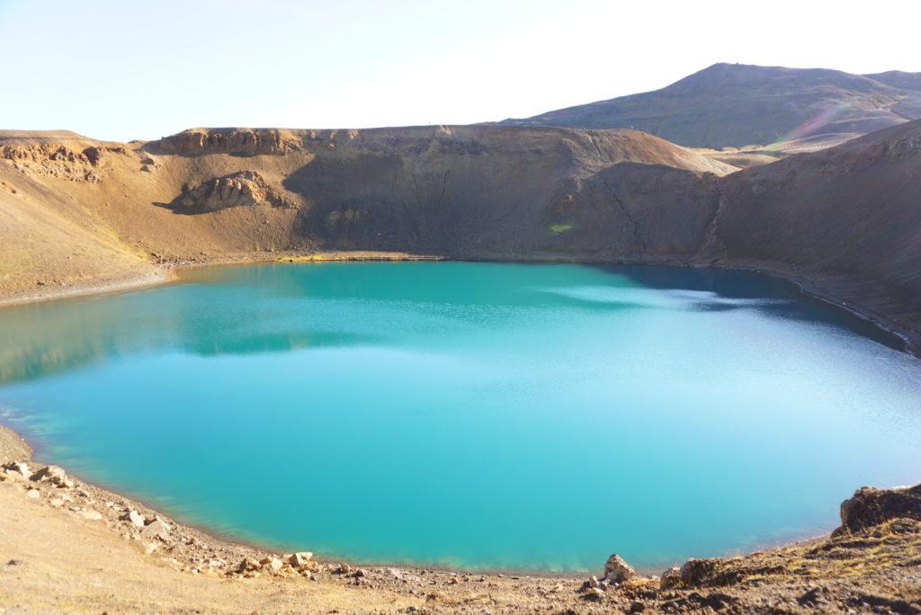 アイスランドクラプラ火山