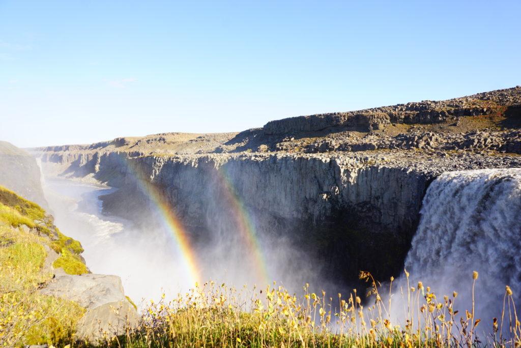 アイスランドデティフォスの滝