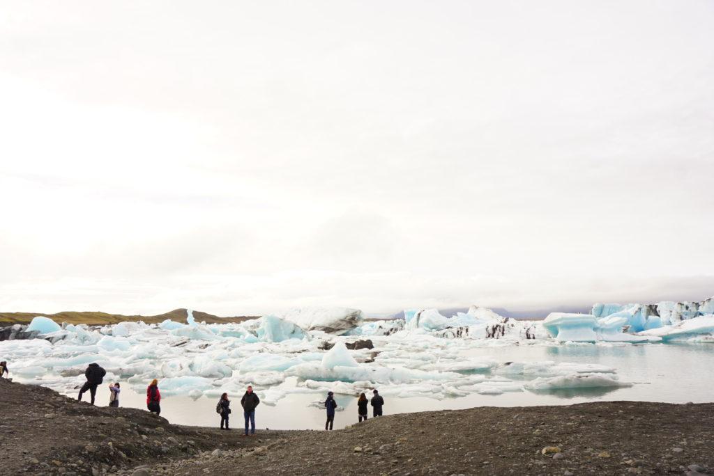 アイスランド氷河ヨークルスアゥルロゥン