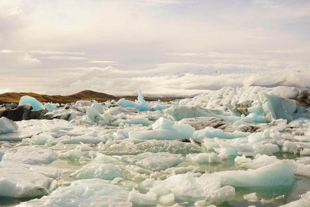 アイスランド氷河