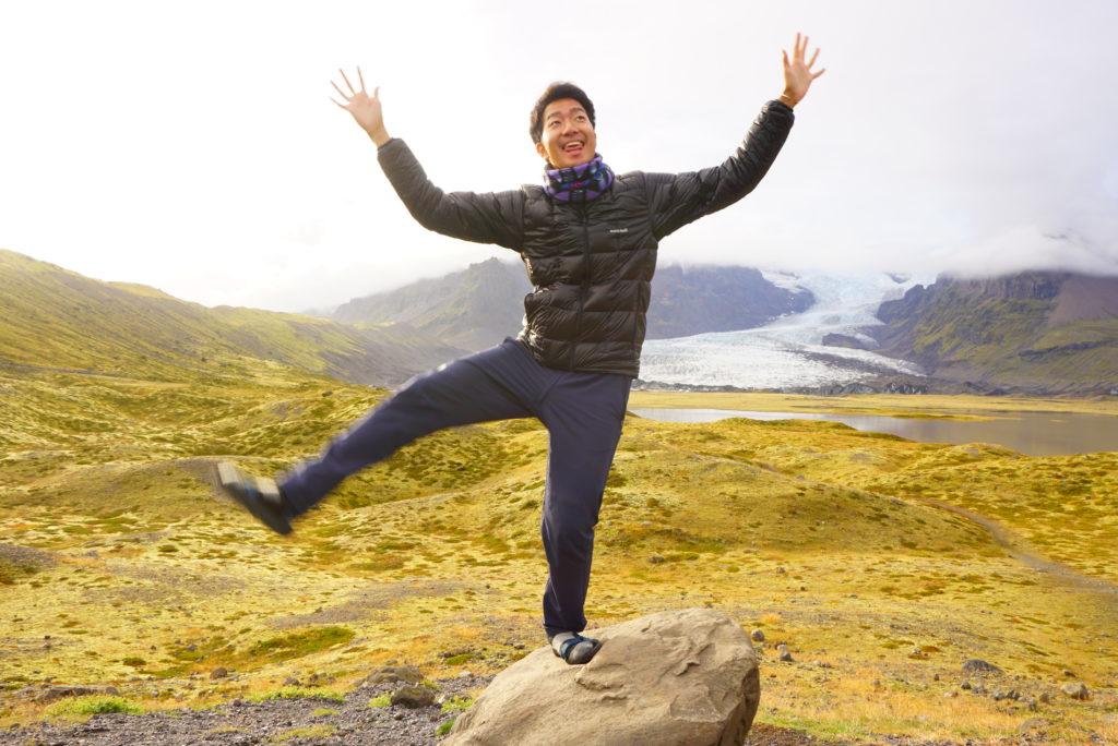 アイスランド氷河展望スポット