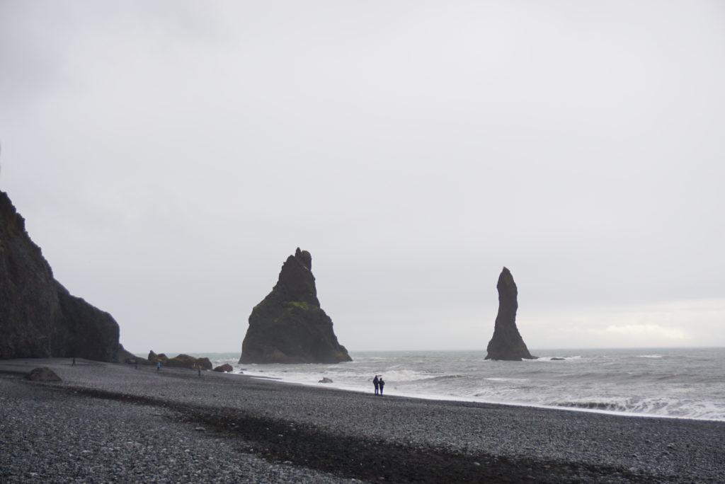 アイスランドブラックサンドビーチ