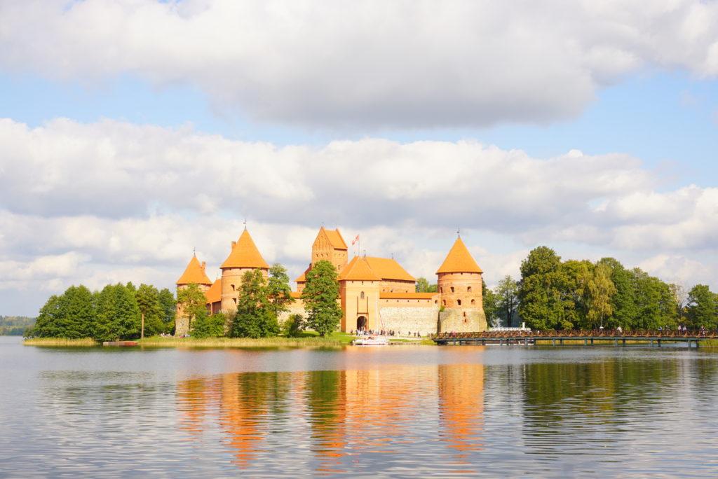 リトアニア観光トラカイ城