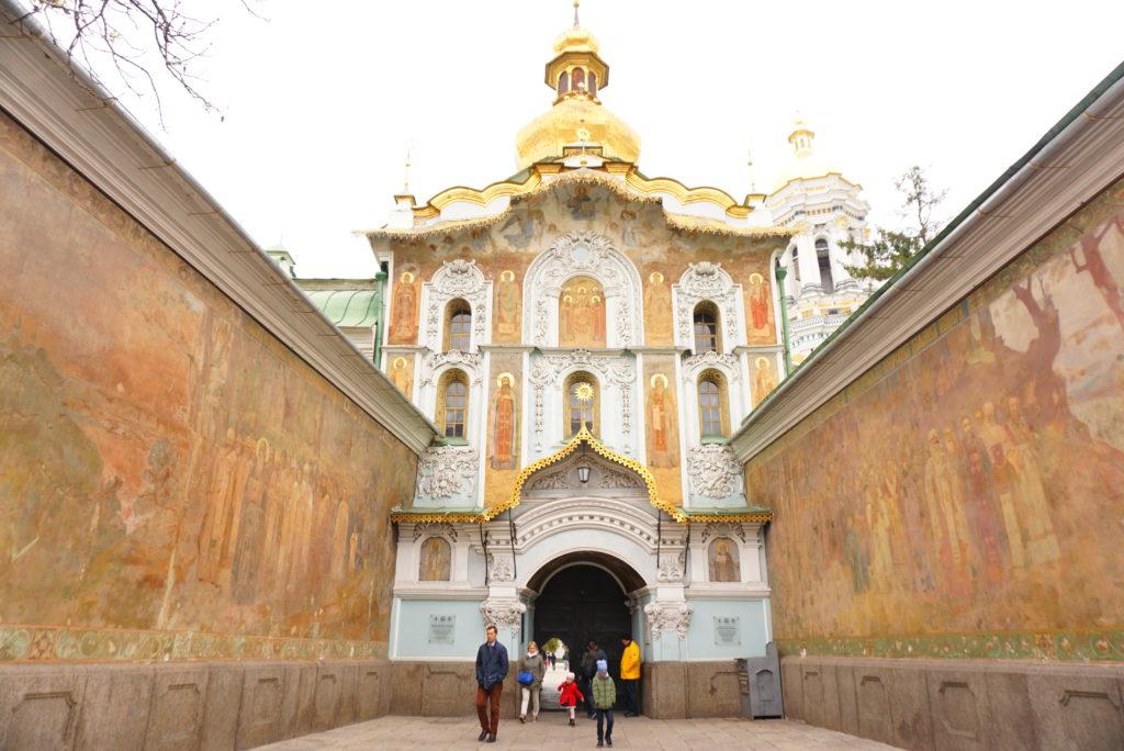 ウクライナキエフ観光スポット