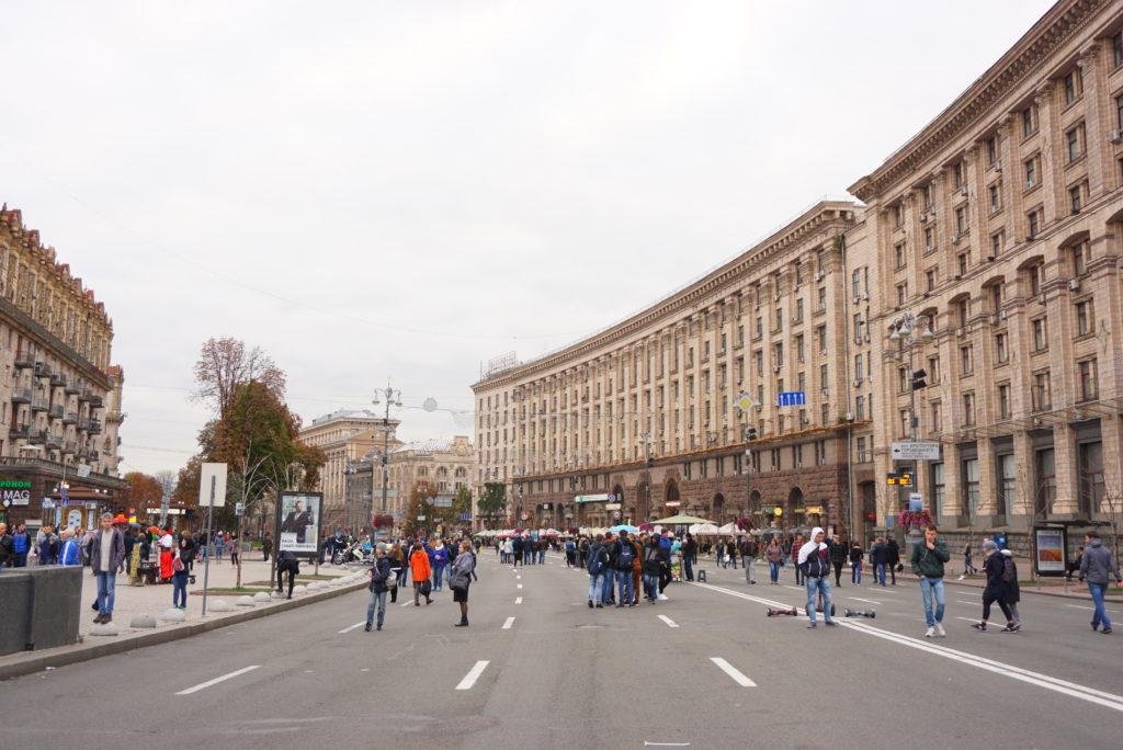 ウクライナキエフ観光