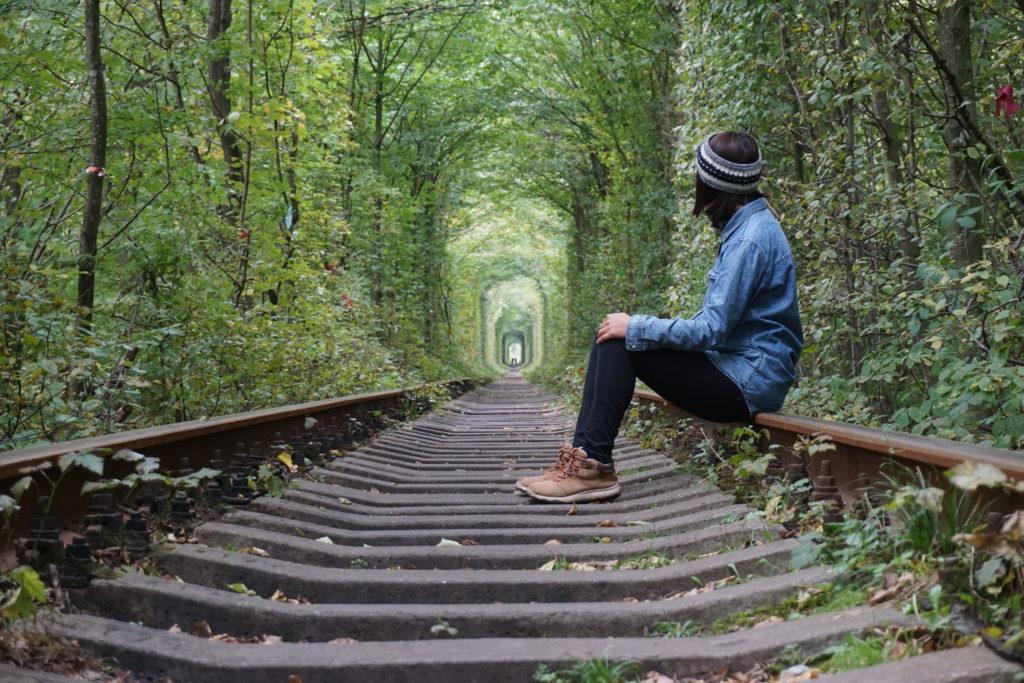ウクライナ愛のトンネル