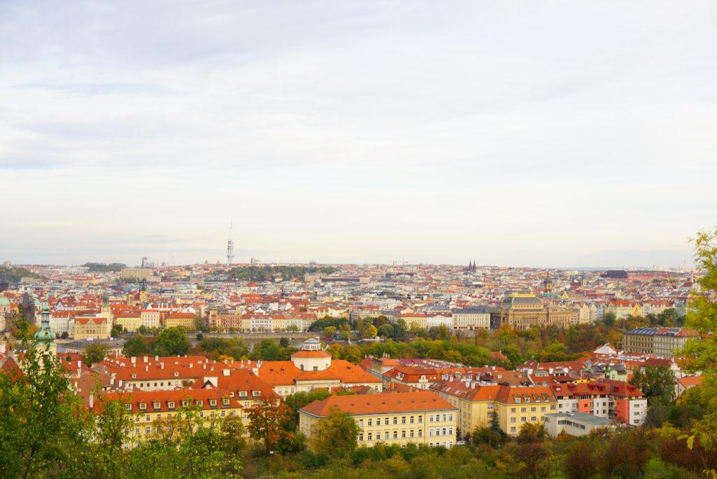 プラハ 絶景 街並み