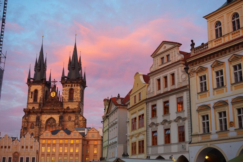 プラハ 旧市街広場
