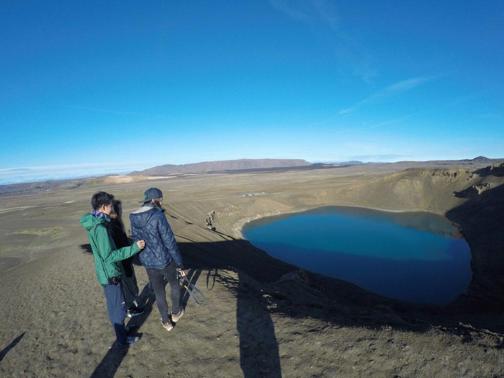 アイスランド湖