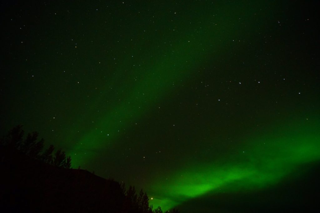 アイスランドオーロラ