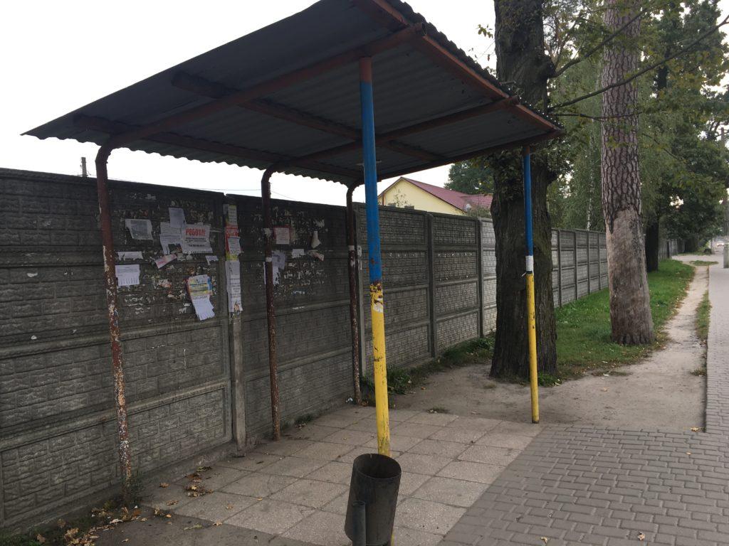 愛のトンネルバス停