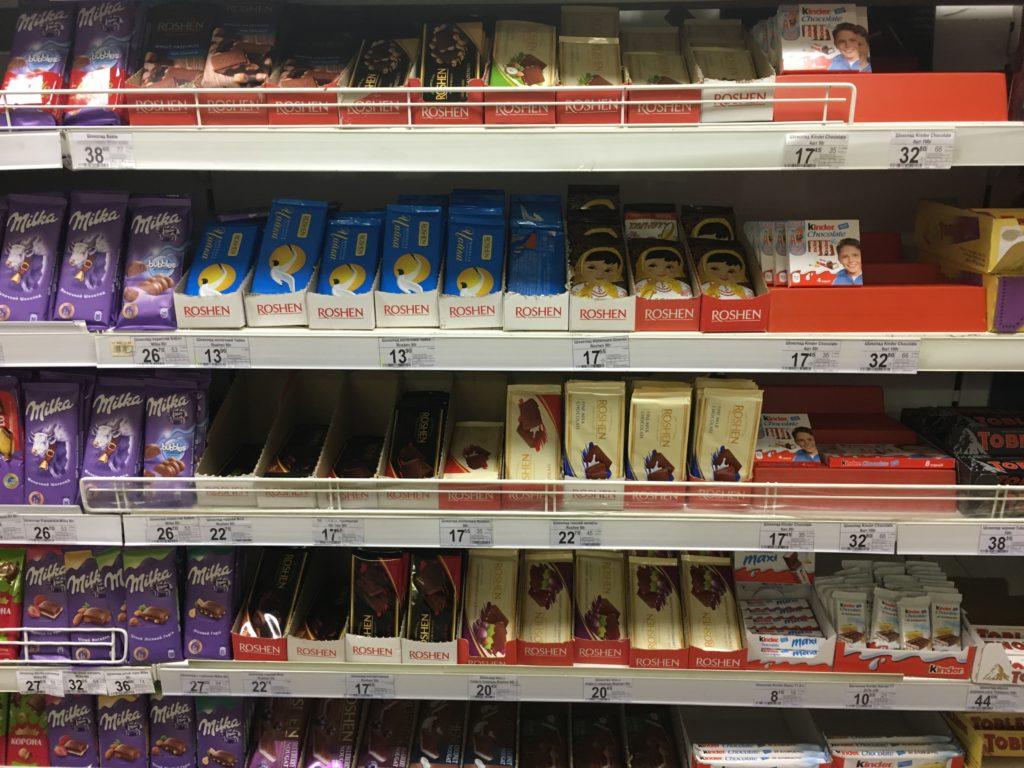 ウクライナチョコレート