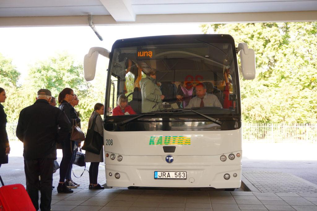トラカイ行きバス