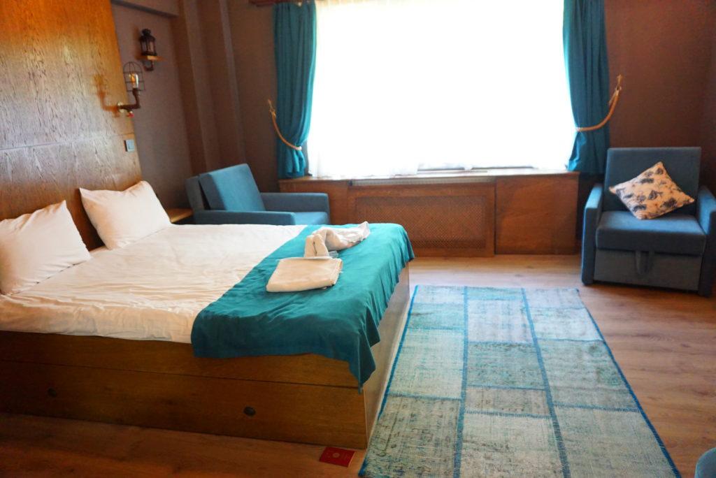 aribnbトルコで宿泊した部屋