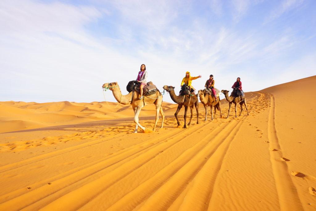 モロッコ 砂漠