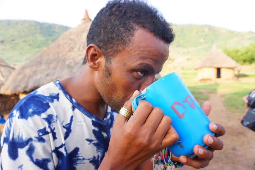 エチオピア 白い飲み物