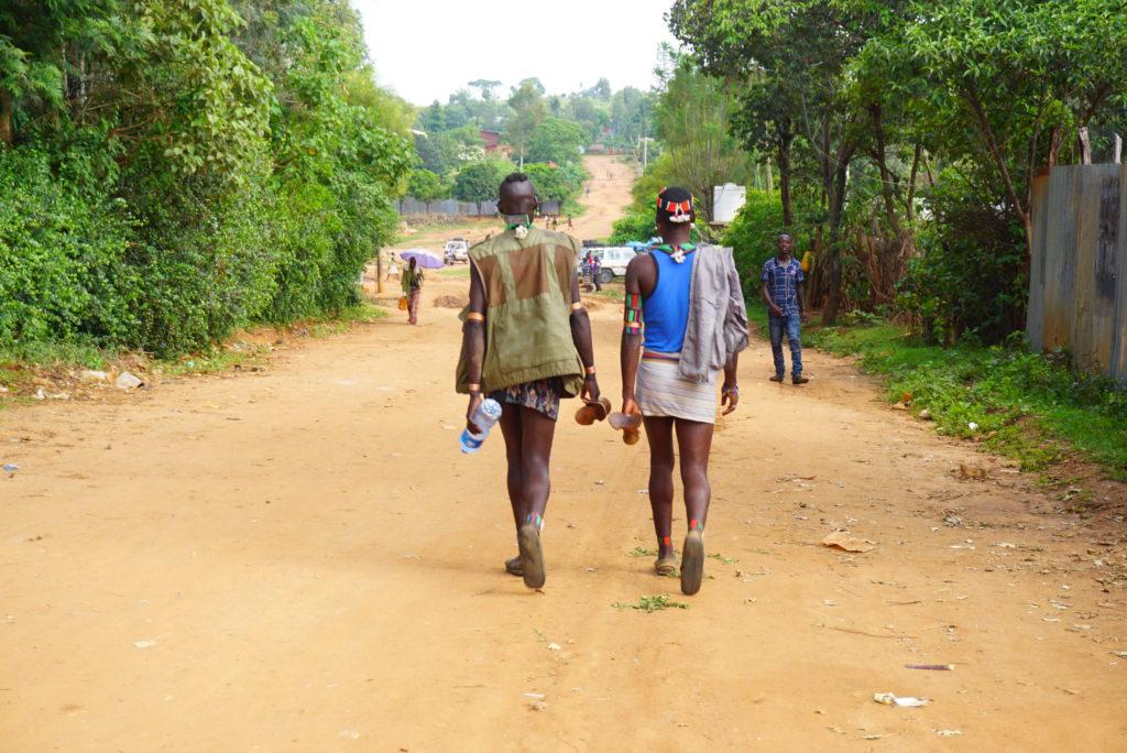 エチオピア 民族マーケット
