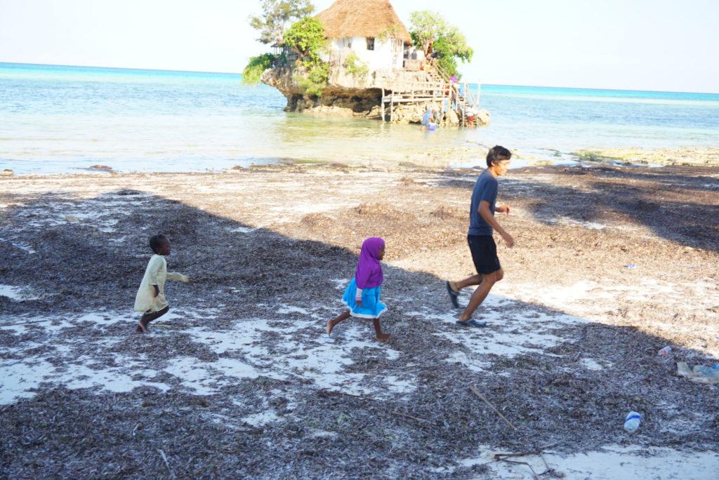 ザンジバル島 子ども