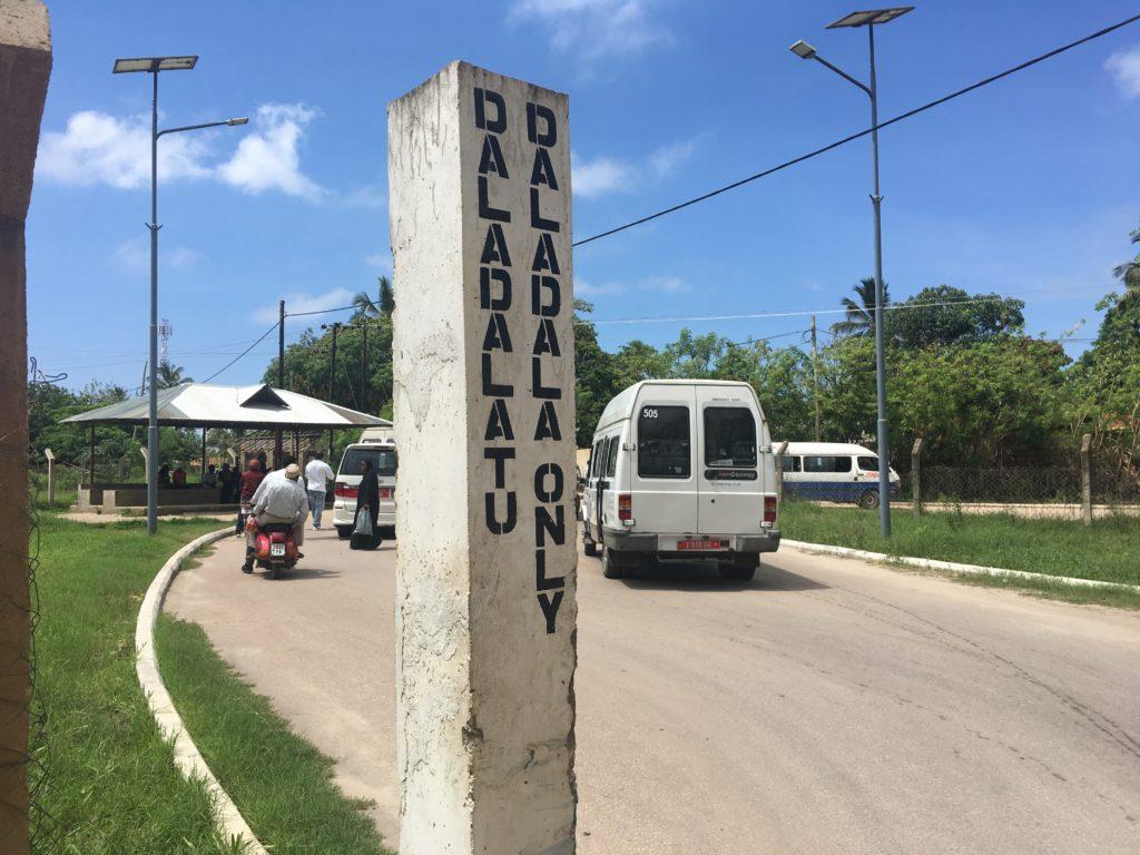 ザンジバル空港から市内 行き方
