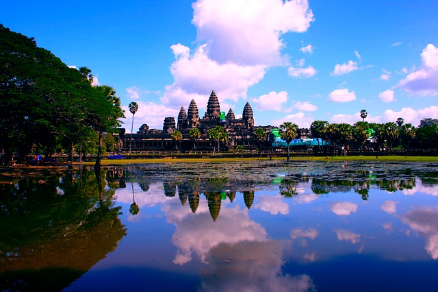 女子一人旅 カンボジア