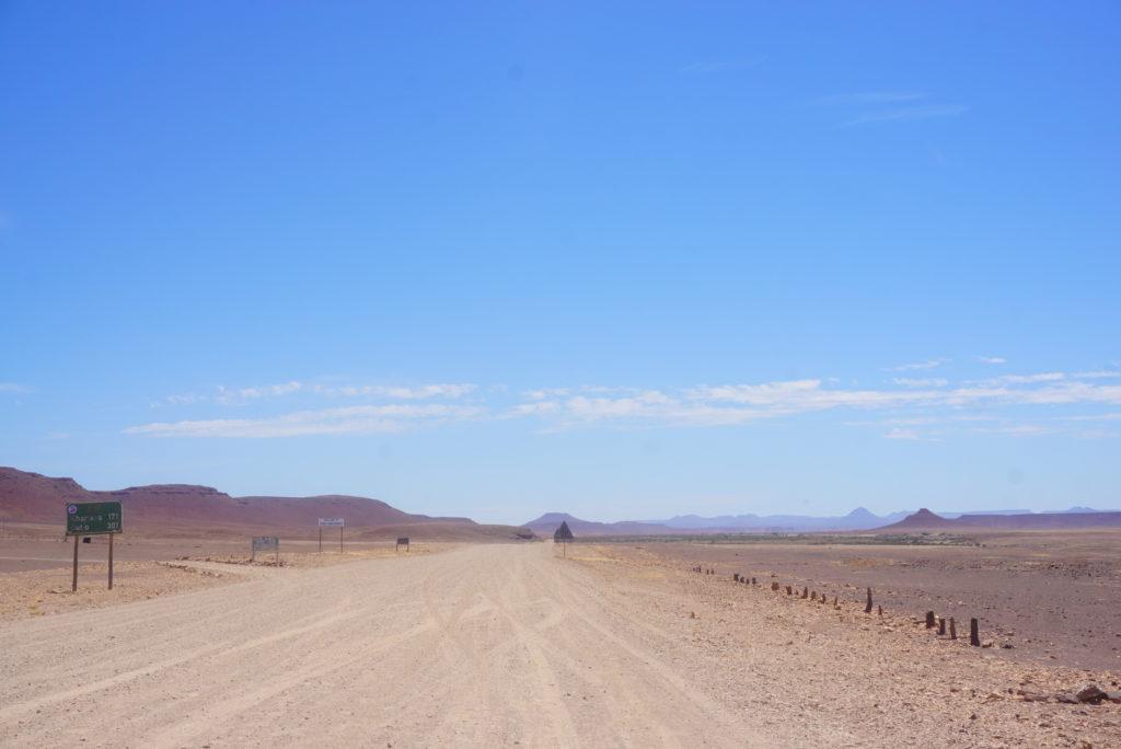 ナミビア レンタカー旅