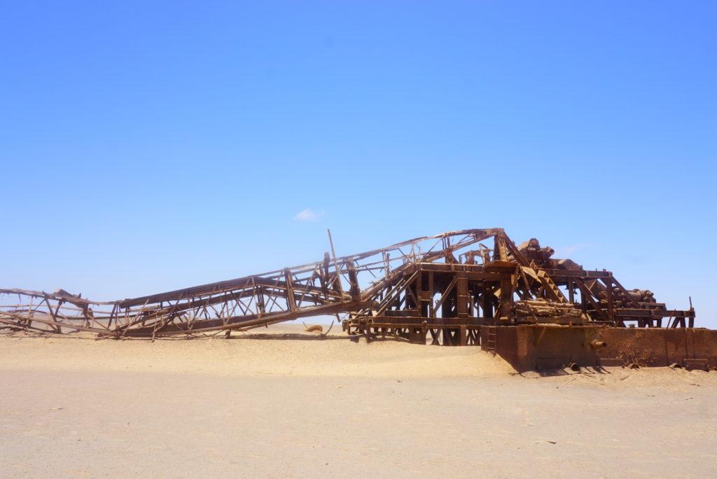 掘削リグ ナミビア