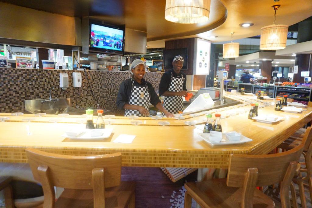 ナミビア 寿司
