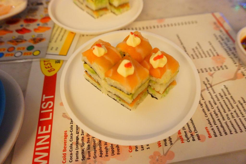 ケープタウン お寿司