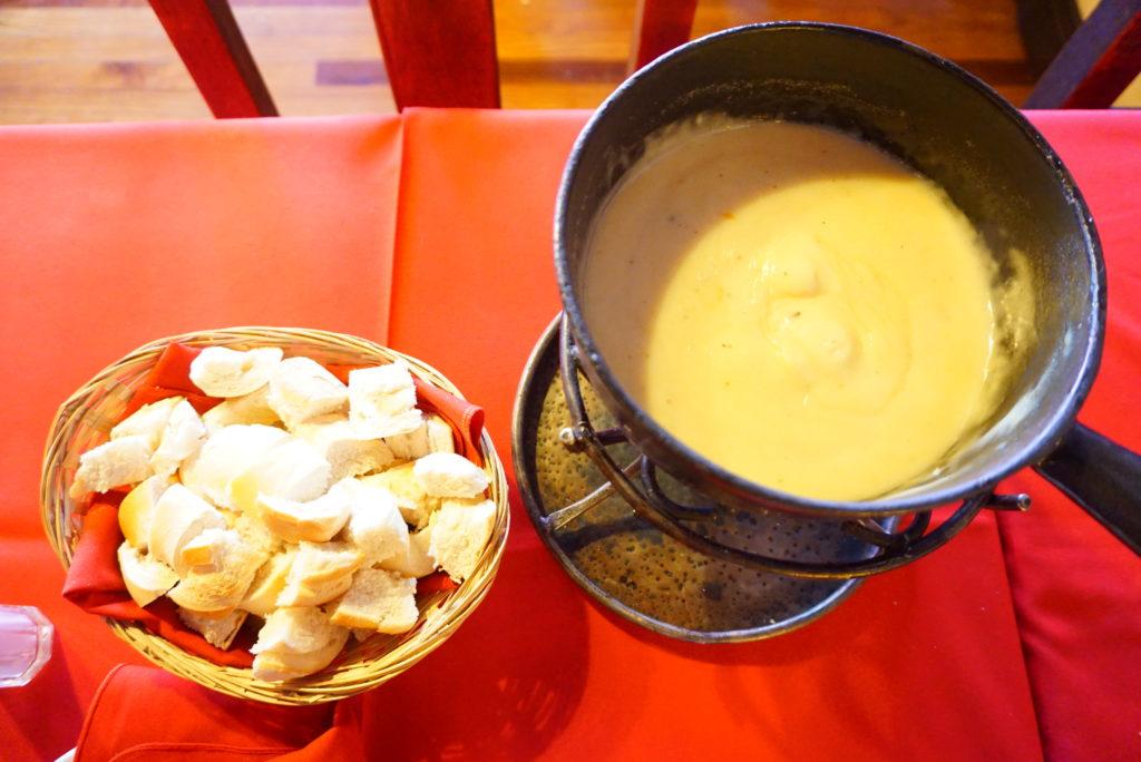 バリローチェ チーズフォンデュ