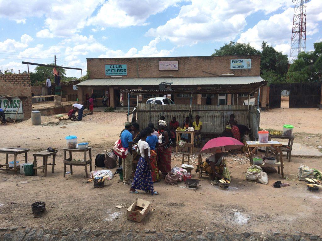 ザンビア 町並み