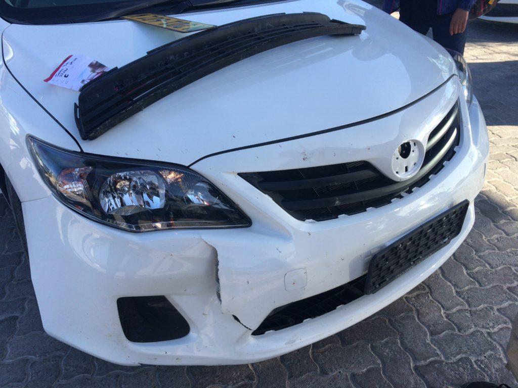 レンタカー 事故
