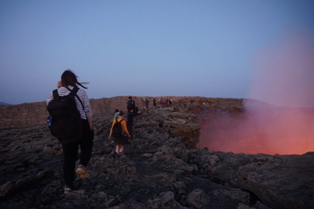 ダナキル 火山